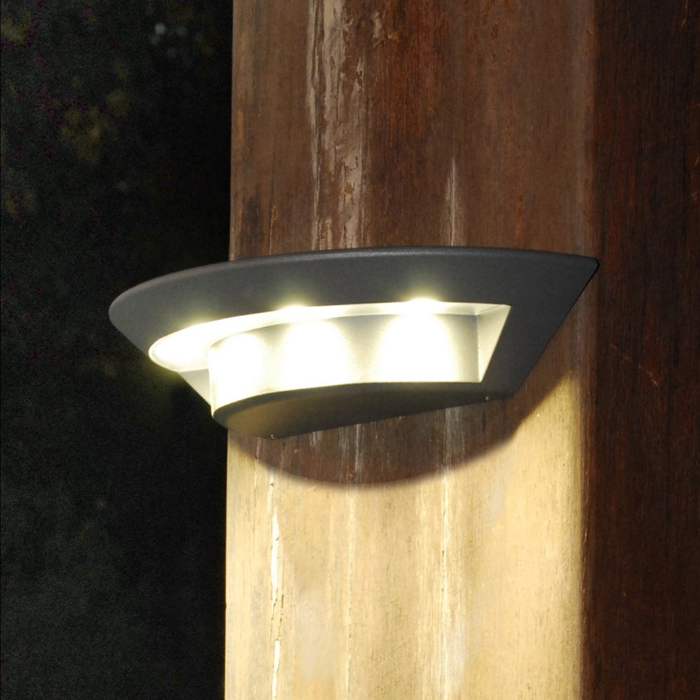 Led outdoor wall lights enhance the architectural for Exterior led lights