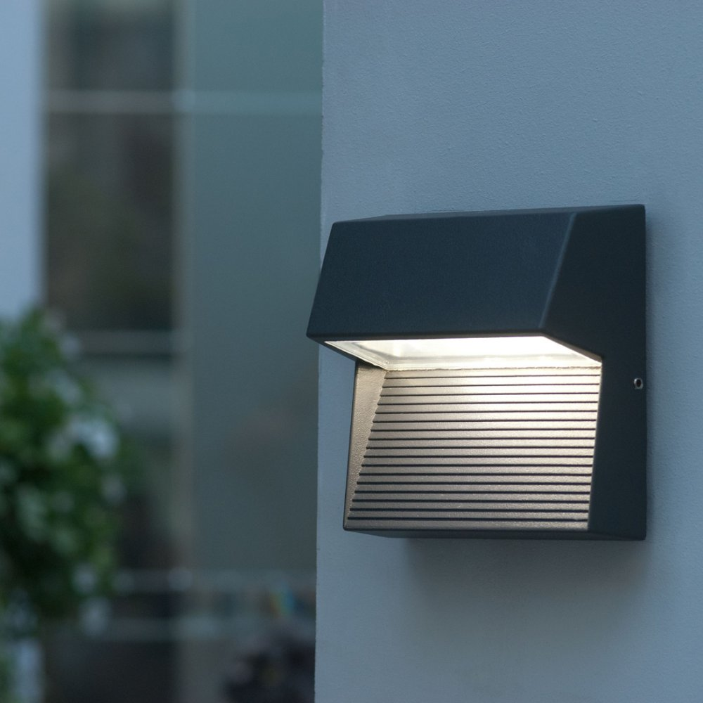 Aurora External Wall Lights : Led outdoor wall lights - enhance the architectural features of your home! Warisan Lighting