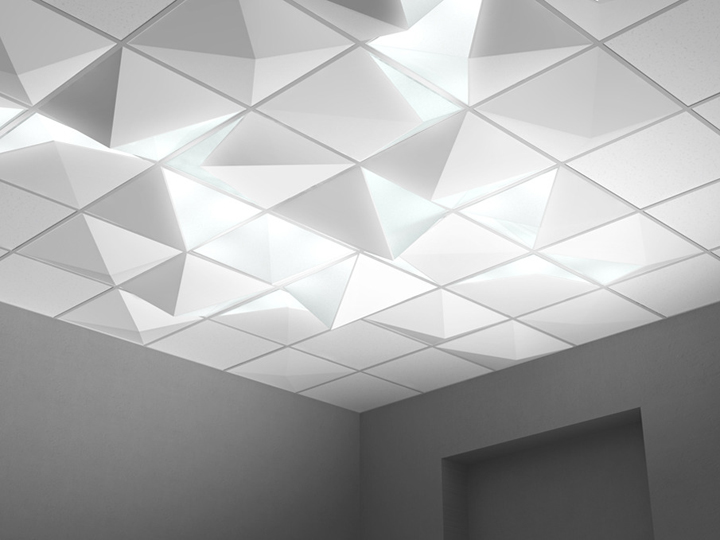 led shop ceiling lights photo - 3