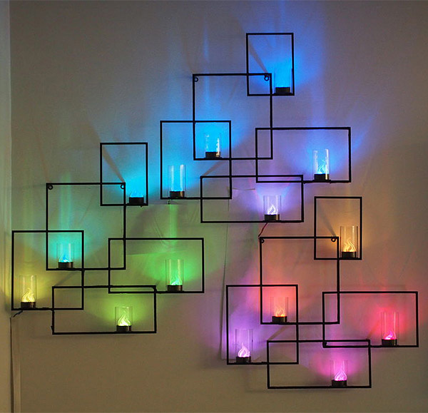 led wall lights photo - 2