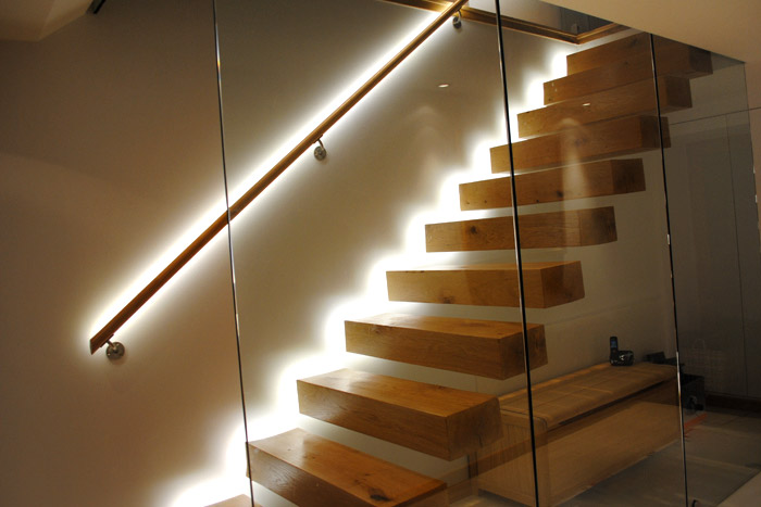led wall lights interior photo - 3