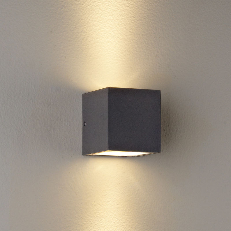 led wall mounted lights photo - 1