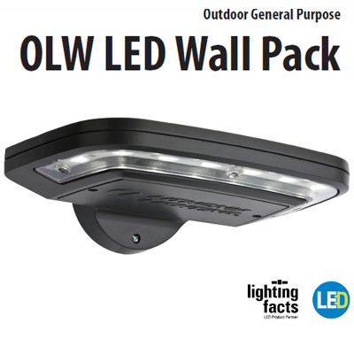 led wall pack light fixtures photo - 2
