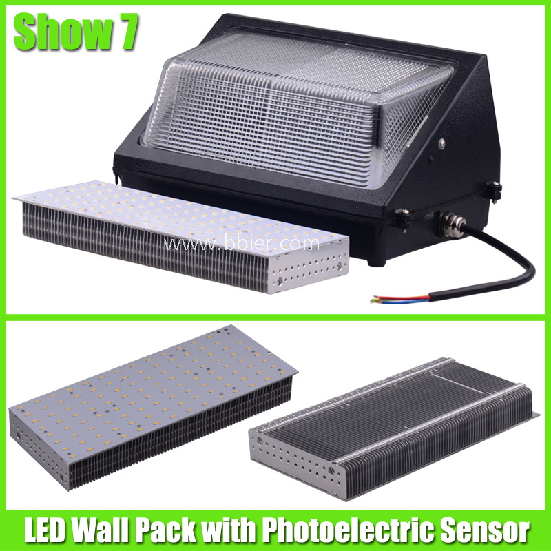 led wall pack light fixtures photo - 8
