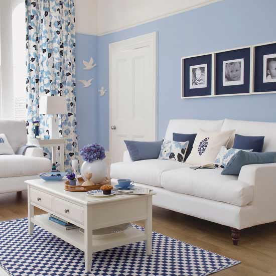 light blue wall color photo - 5