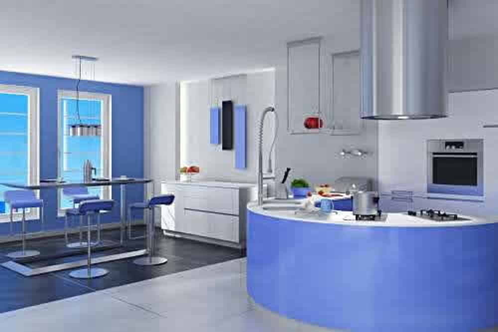 light blue wall paint colors photo - 1