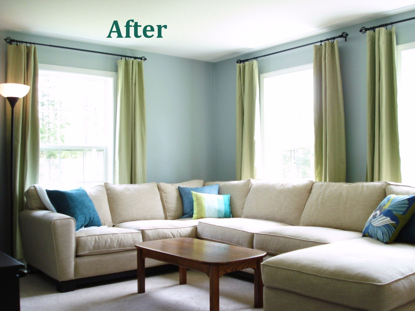 Light blue paint colors for living room - Light Grey And Blue Living Room Sneiracom