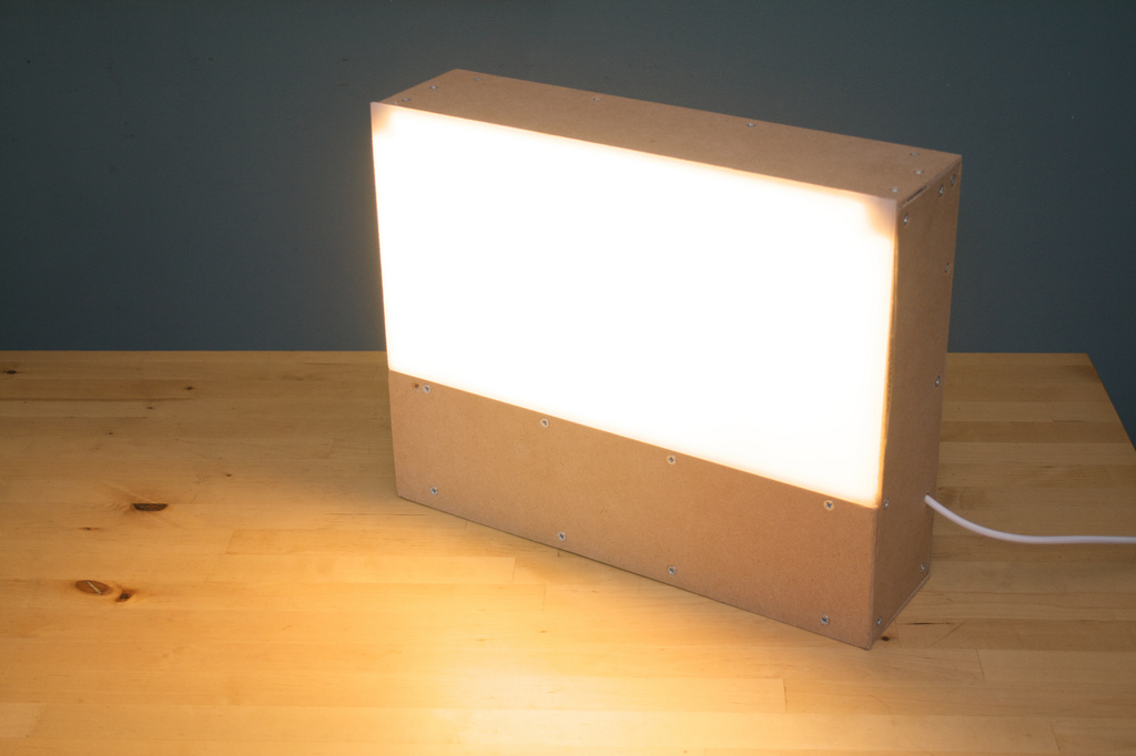 Light Box Lamp