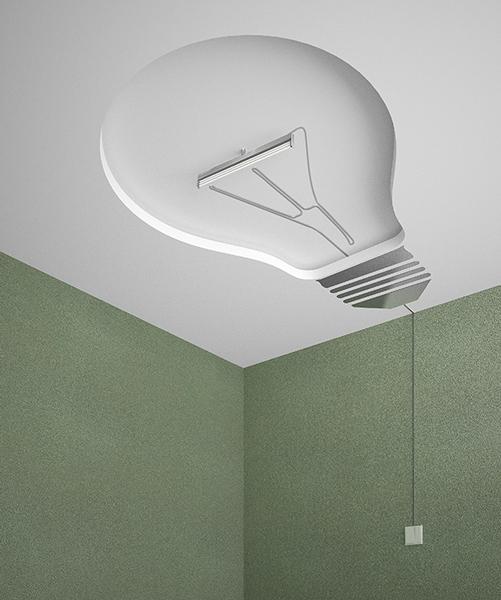 light bulb ceiling light photo - 7