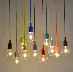 light bulb ceiling pendant photo - 9