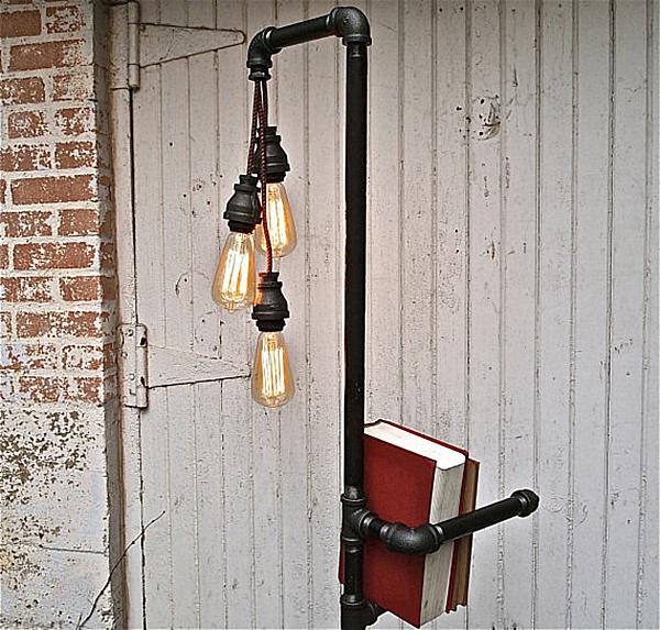 light bulb floor lamp photo - 3