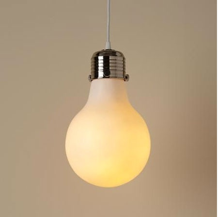 light bulb shaped ceiling light photo - 3