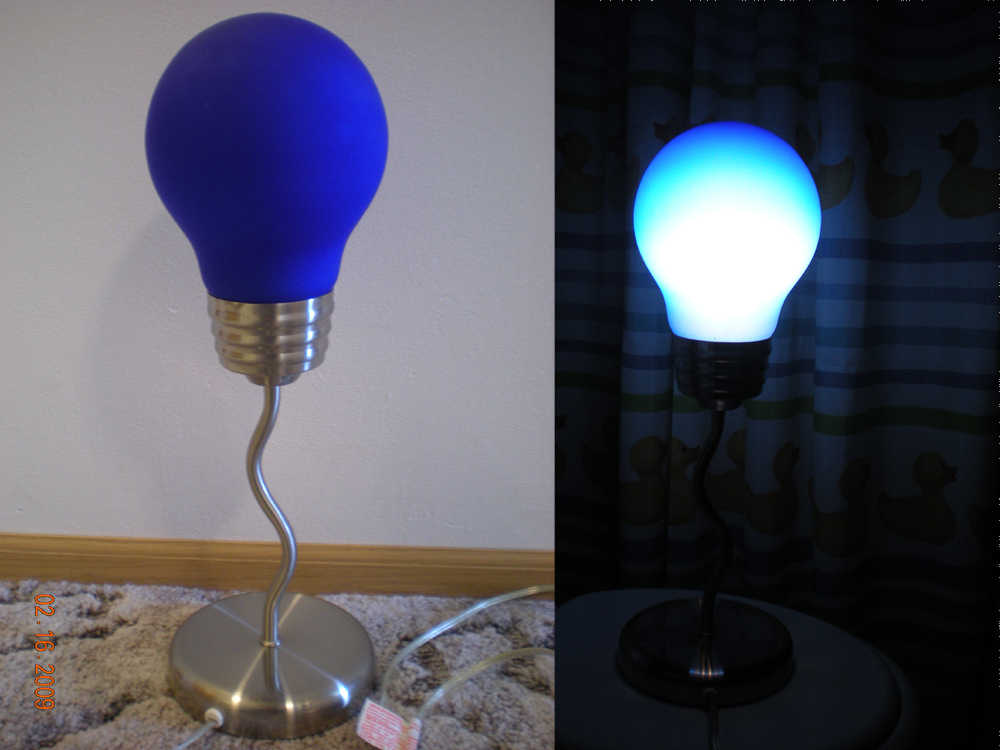 light bulb shaped ceiling light photo - 7