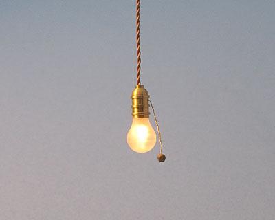 light bulb table lamp photo - 8