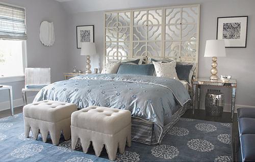 light gray bedroom walls photo - 2