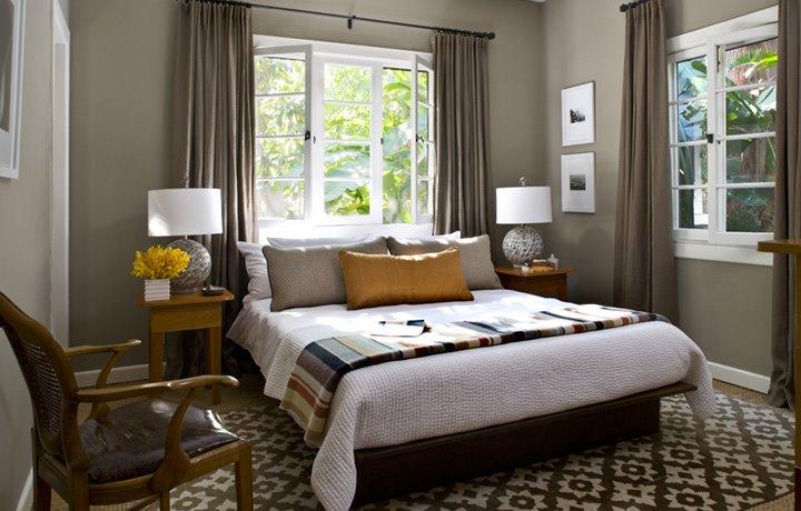 light gray bedroom walls photo - 4