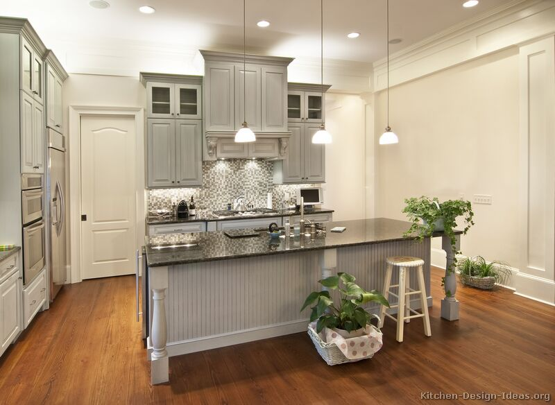 light gray kitchen walls photo - 4