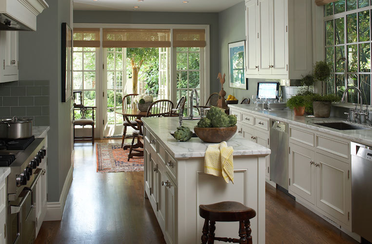 Gray Kitchen Walls light up your kitchen and add decor using light gray kitchen walls