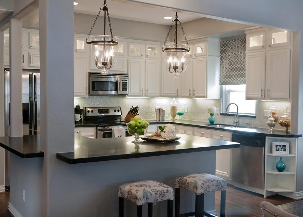 light gray kitchen walls photo - 8