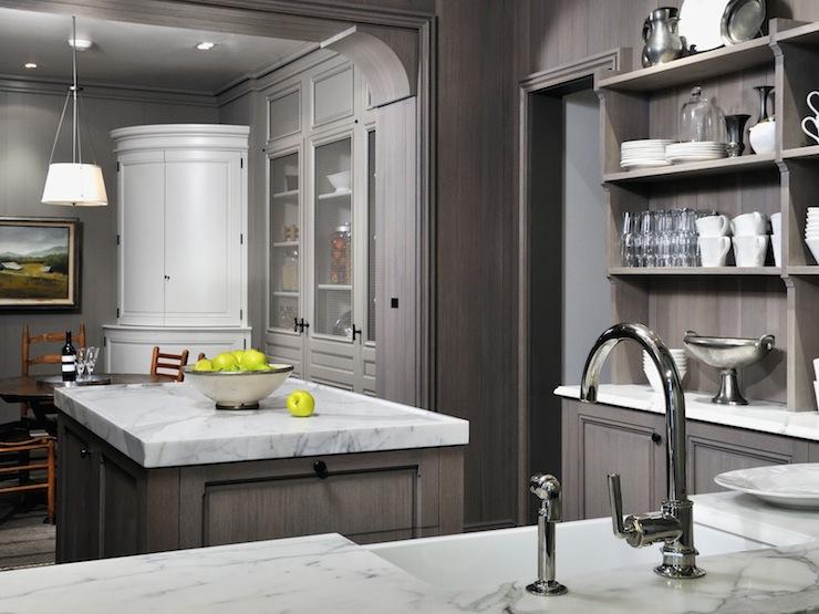 light gray kitchen walls photo - 9