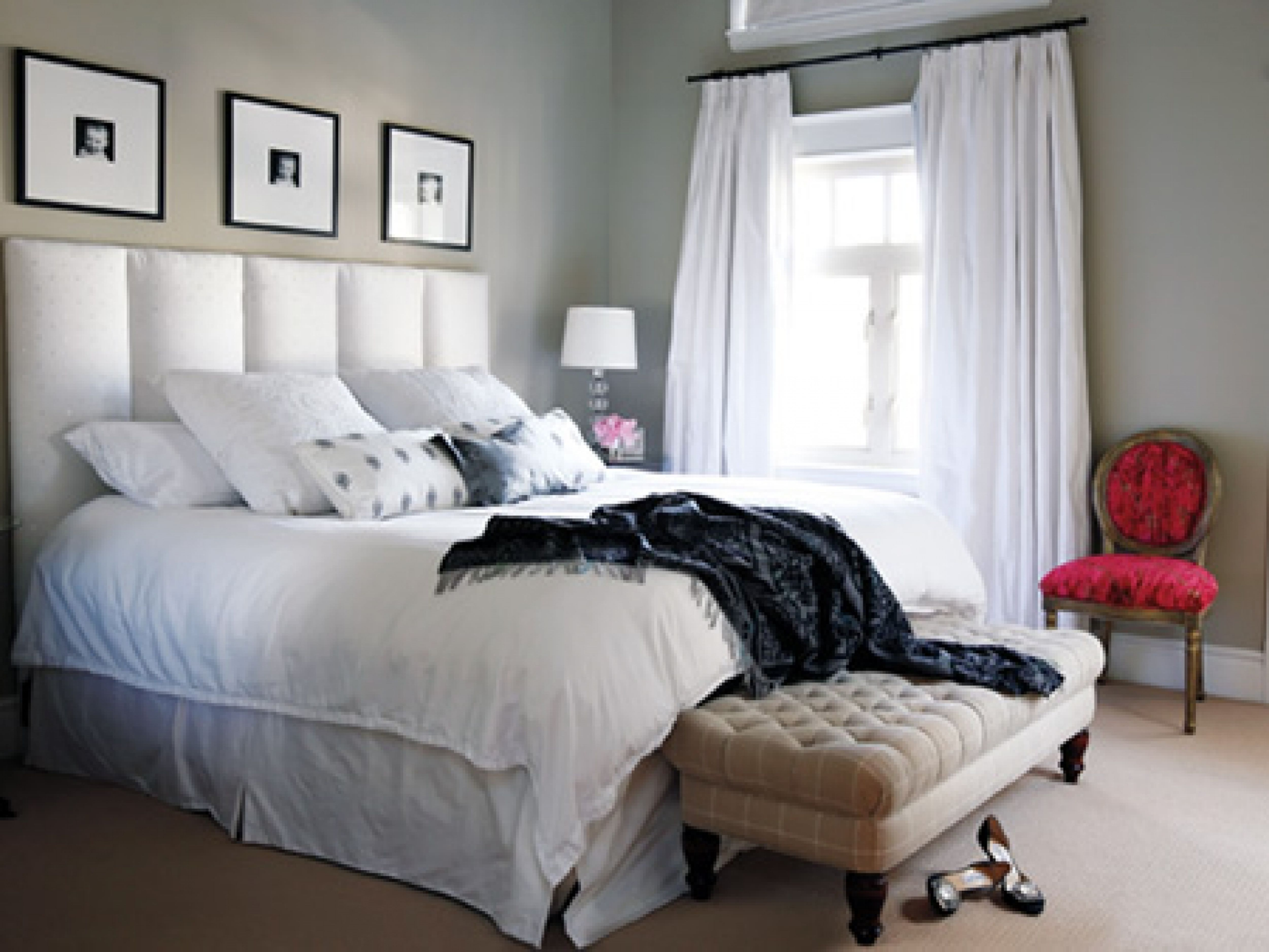 light grey bedroom walls photo - 1