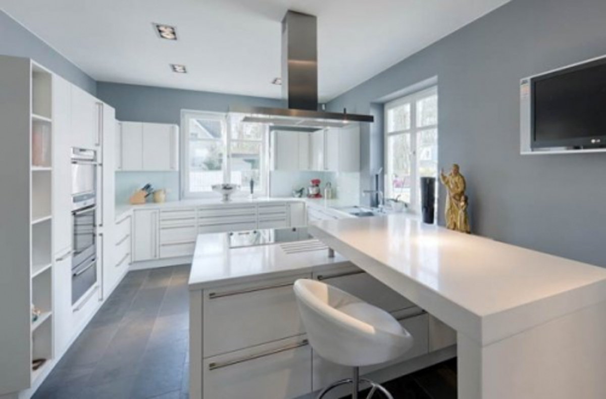 Grey Kitchen Walls images of light grey kitchen walls - garden and kitchen