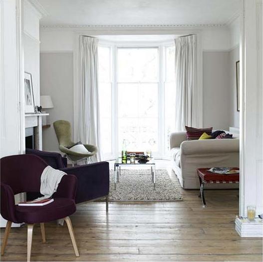 Light Grey Living Room Walls Photo   2
