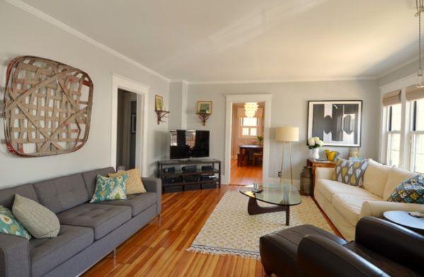 light grey living room walls photo - 4