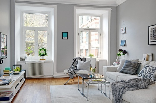 10 benefits of light grey living room walls warisan lighting - Gray living room walls ...