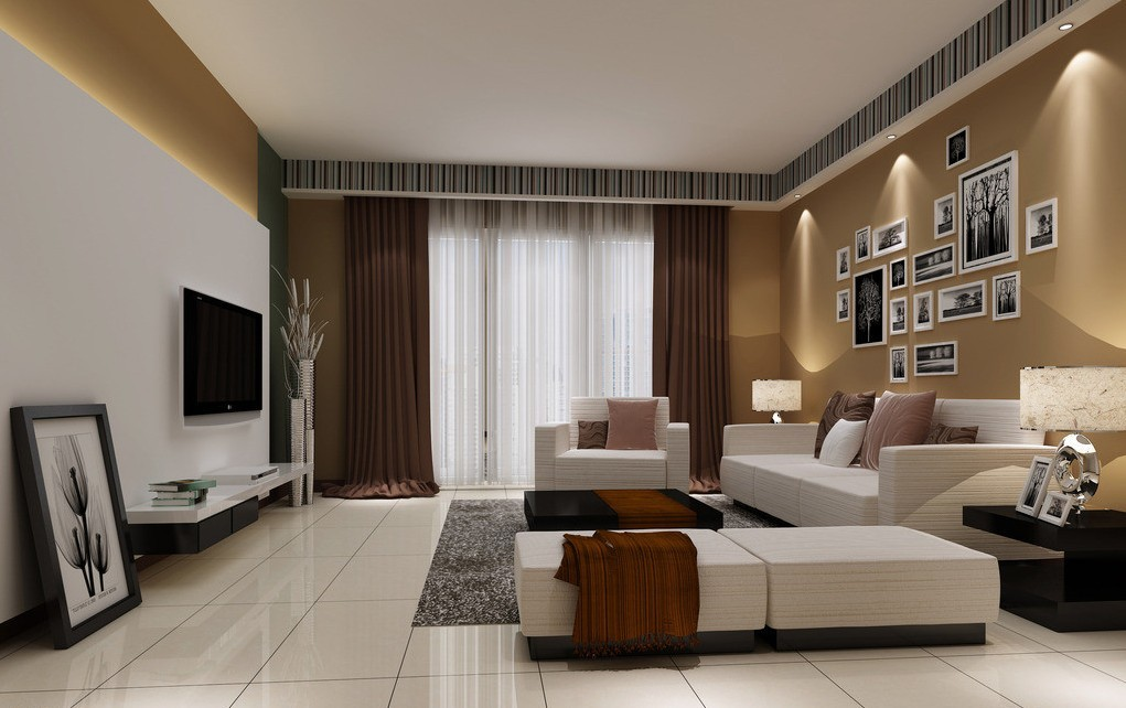 Light Grey Living Room Walls Warisan Lighting Photo 9