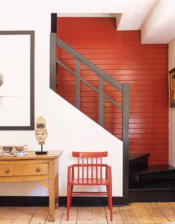 light orange wall paint photo - 9