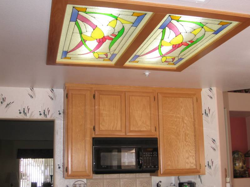 light panel ceiling photo - 6