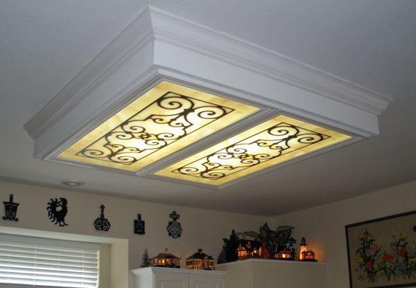 light panel ceiling photo - 8