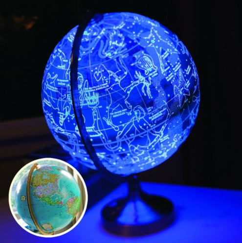 light up globe lamp photo - 10