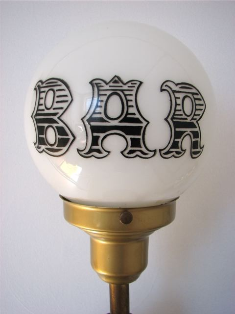 light up globe lamp photo - 7