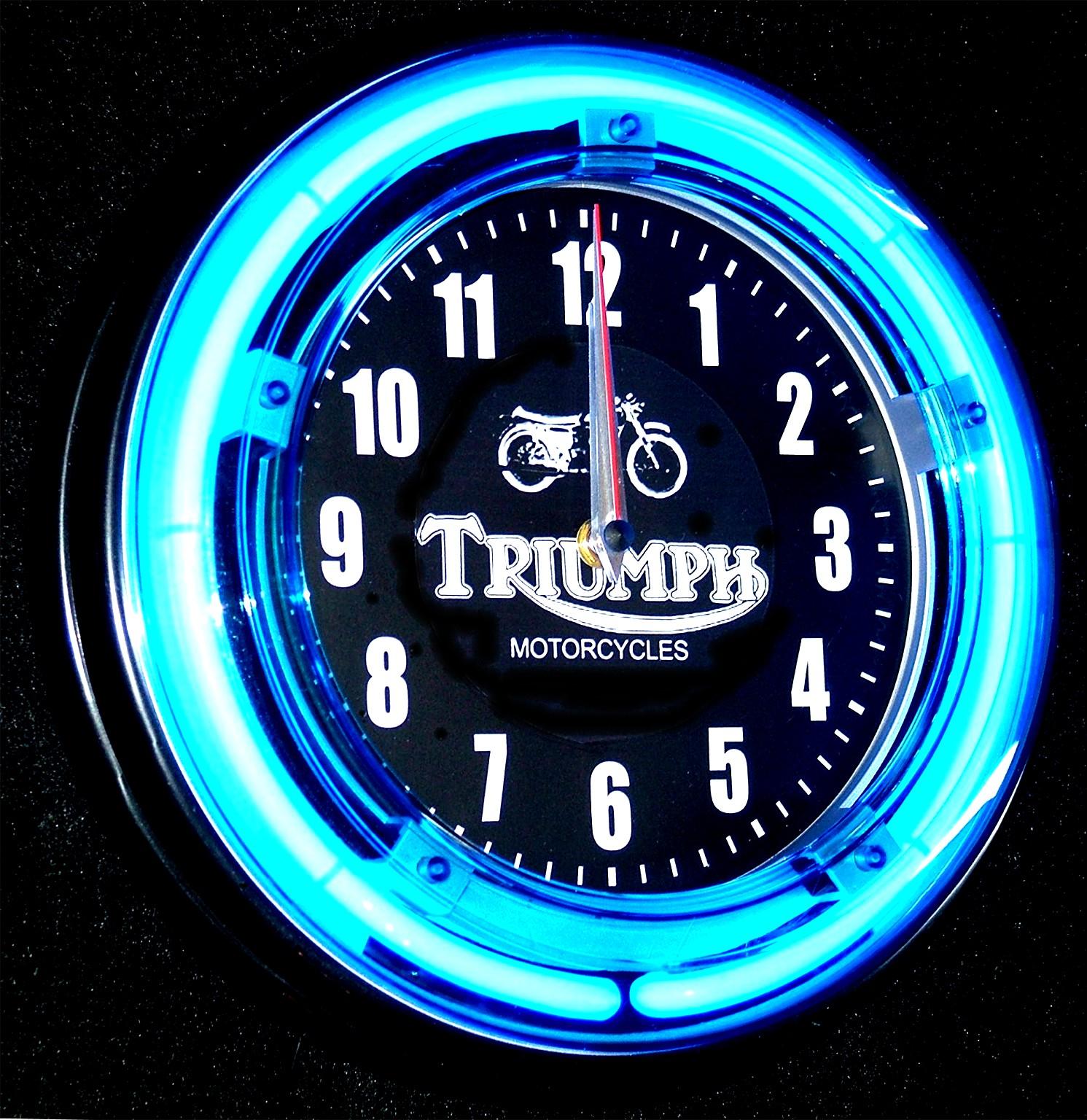 light up wall clocks photo - 8
