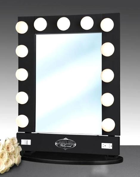 light wall mirror photo - 3
