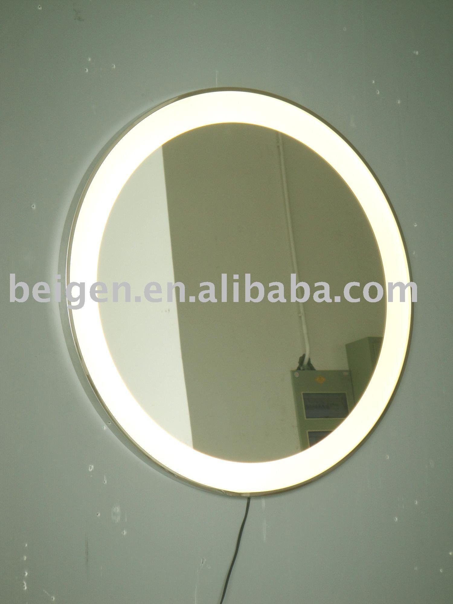 light wall mirror photo - 5
