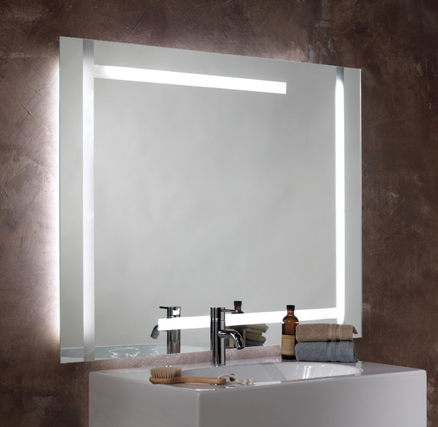 Image Gallery Lighted Mirror