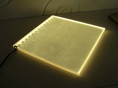 lighted ceiling panels photo - 4