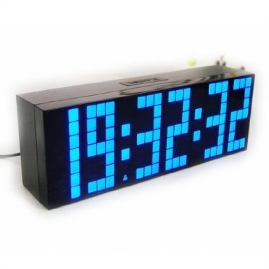 lighted digital wall clock photo - 4