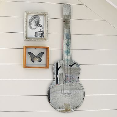 lighted guitar wall mount photo - 8