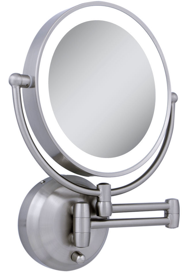 Wall Mounted Makeup Mirror With Lights lighted makeup mirror wall mount | roselawnlutheran