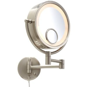 Wall Mounted Makeup Mirror With Light wall mounted makeup mirror | roselawnlutheran