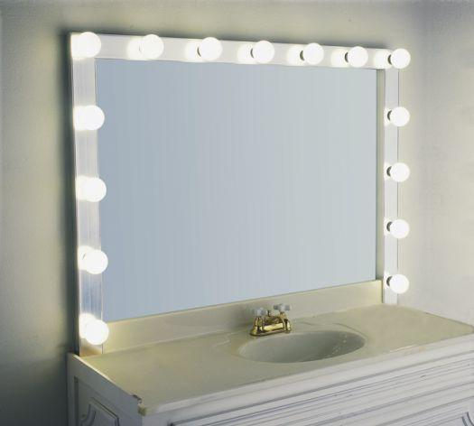 lighted vanity wall mirrors photo - 3