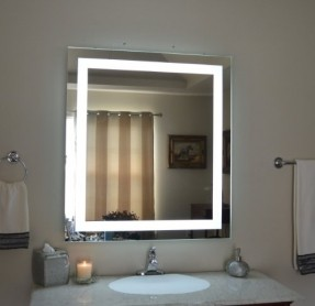 lighted vanity wall mirrors photo - 9