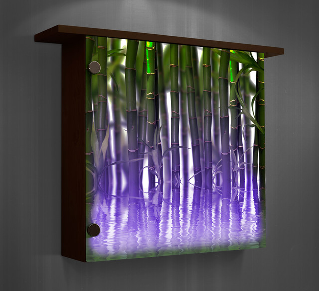 lighted wall decor photo - 2