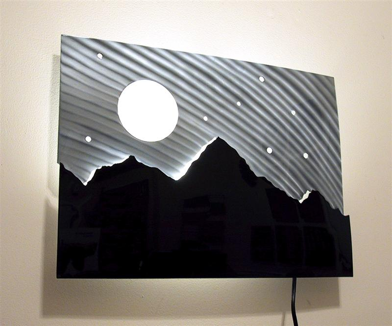 lighted wall decor photo - 5