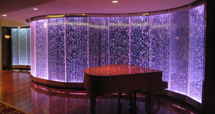 lighted wall panels photo - 3