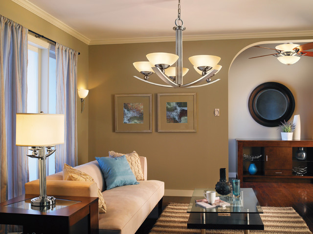 lights in living room ceiling photo - 3